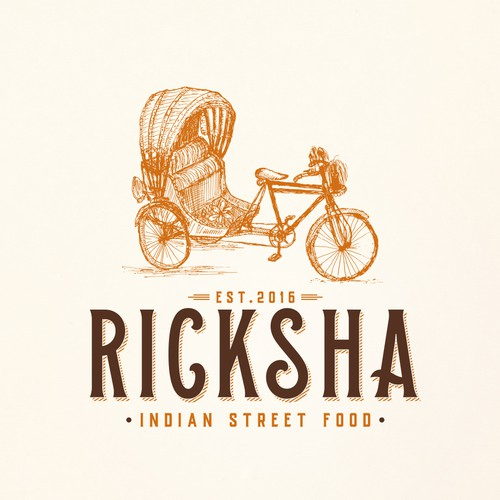 Logo Deisgn for Vintage Ricksha