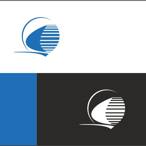 Logo concept for speed boat