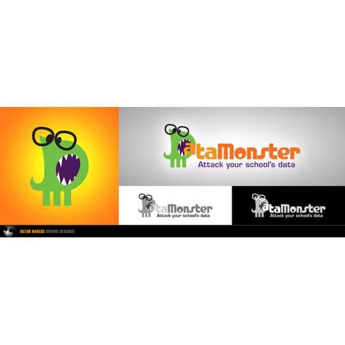 DataMonster logo design