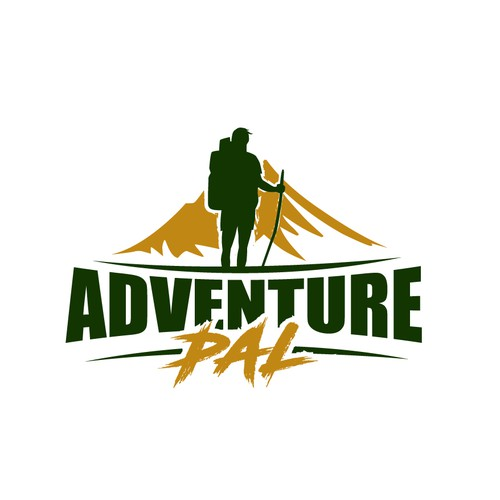 Logo for adventure & outdoor apparel