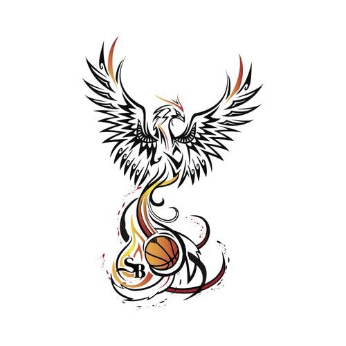 Bird fenix tattoo