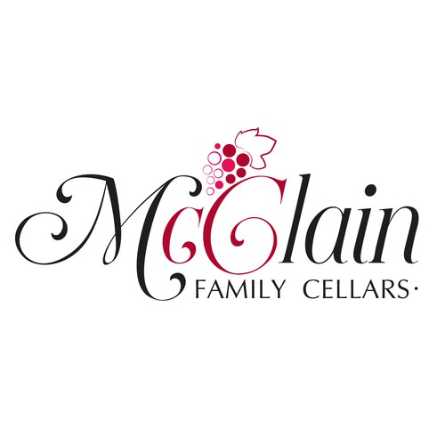 Logo for a winery