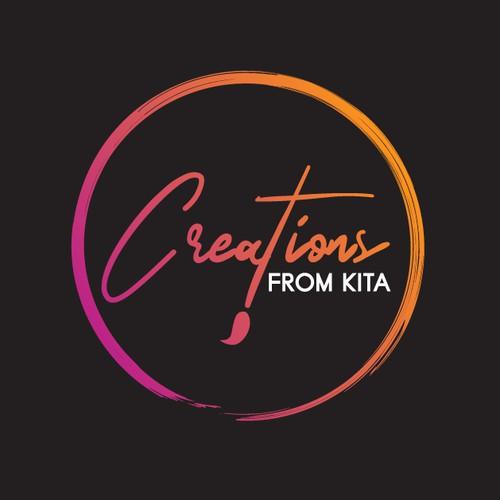 Unique letter logo concept for KITA