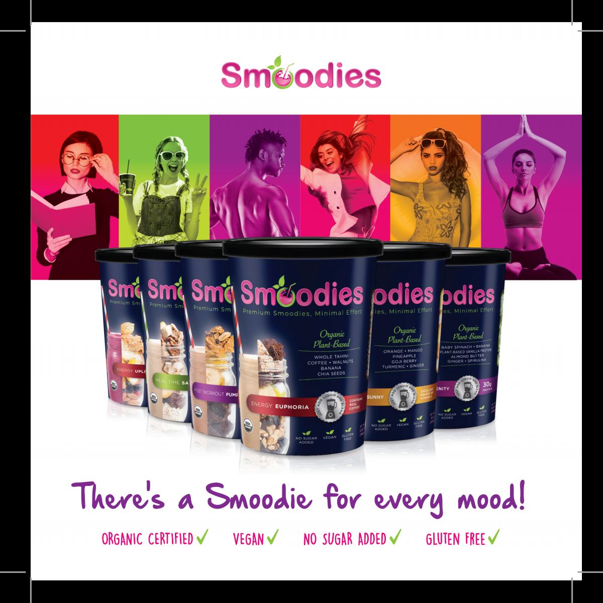 Smoodies - Brochure Design