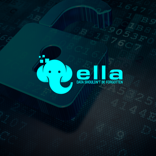 elephant logo for data program