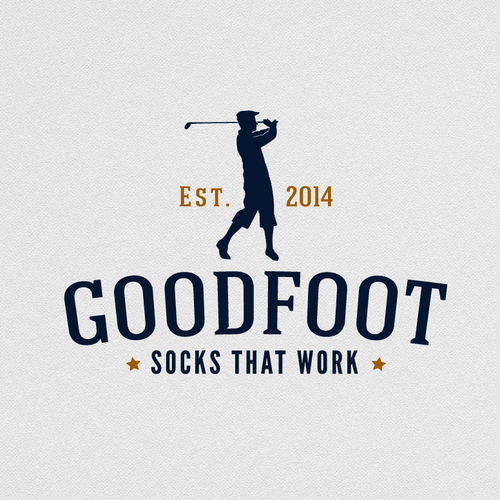 Create a standout logo for GoodFoot sock company