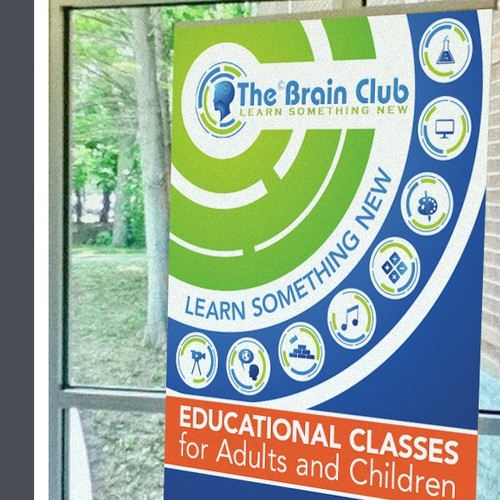 signage for The Brain Club