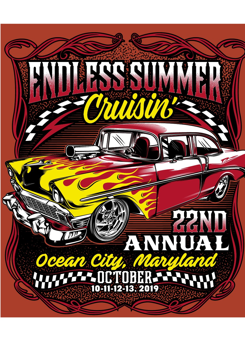 Classic Car Show t-shirts and apparel