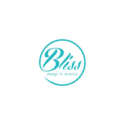Design a Modern Chic Logo for a Boutique Event Planning Business Called Bliss Design & Events.