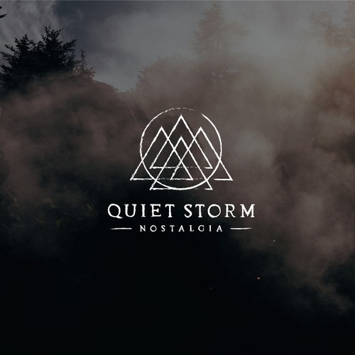 Logo Design for Quiet Storm Nostalgia