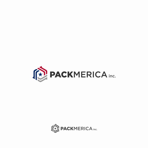 Packmerica Logo Designs