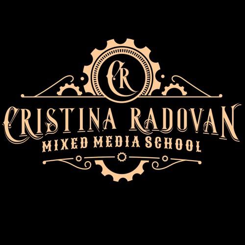 Cristina Radovan Steampunk logo
