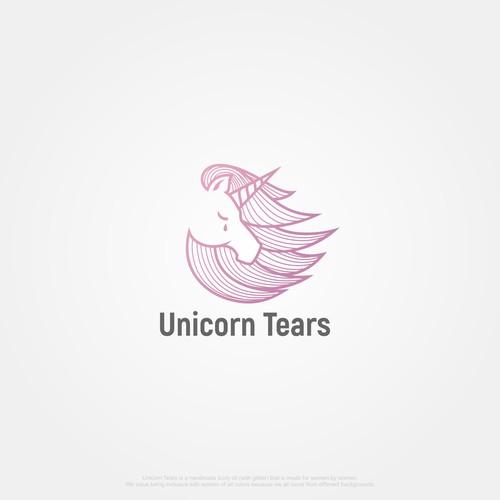 Design a logo for Unicorn Tears a handmade body oil (with glitter)!