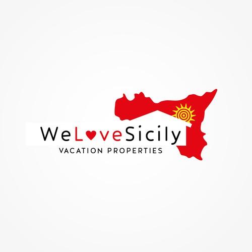 Create the next logo for WeLoveSicily