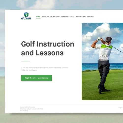 Optimal Golf Performane