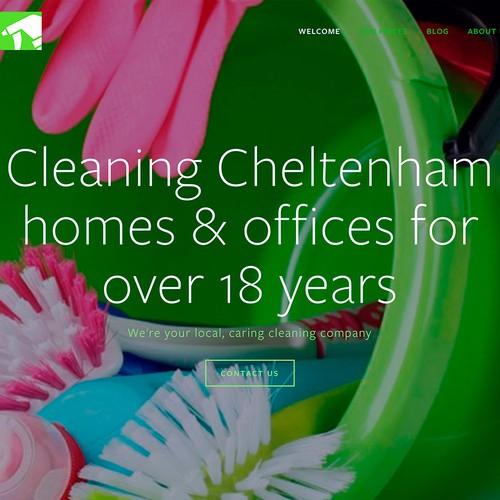 Cheltenham Cleaning Website