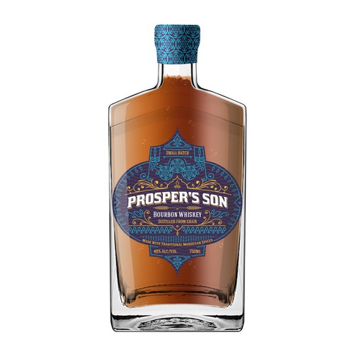 Bourbon Whiskey etiquette