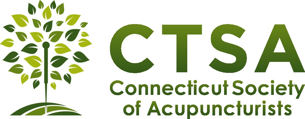 New logo for professional organization of acupuncturists.