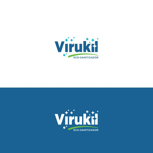 Virukil logo designs