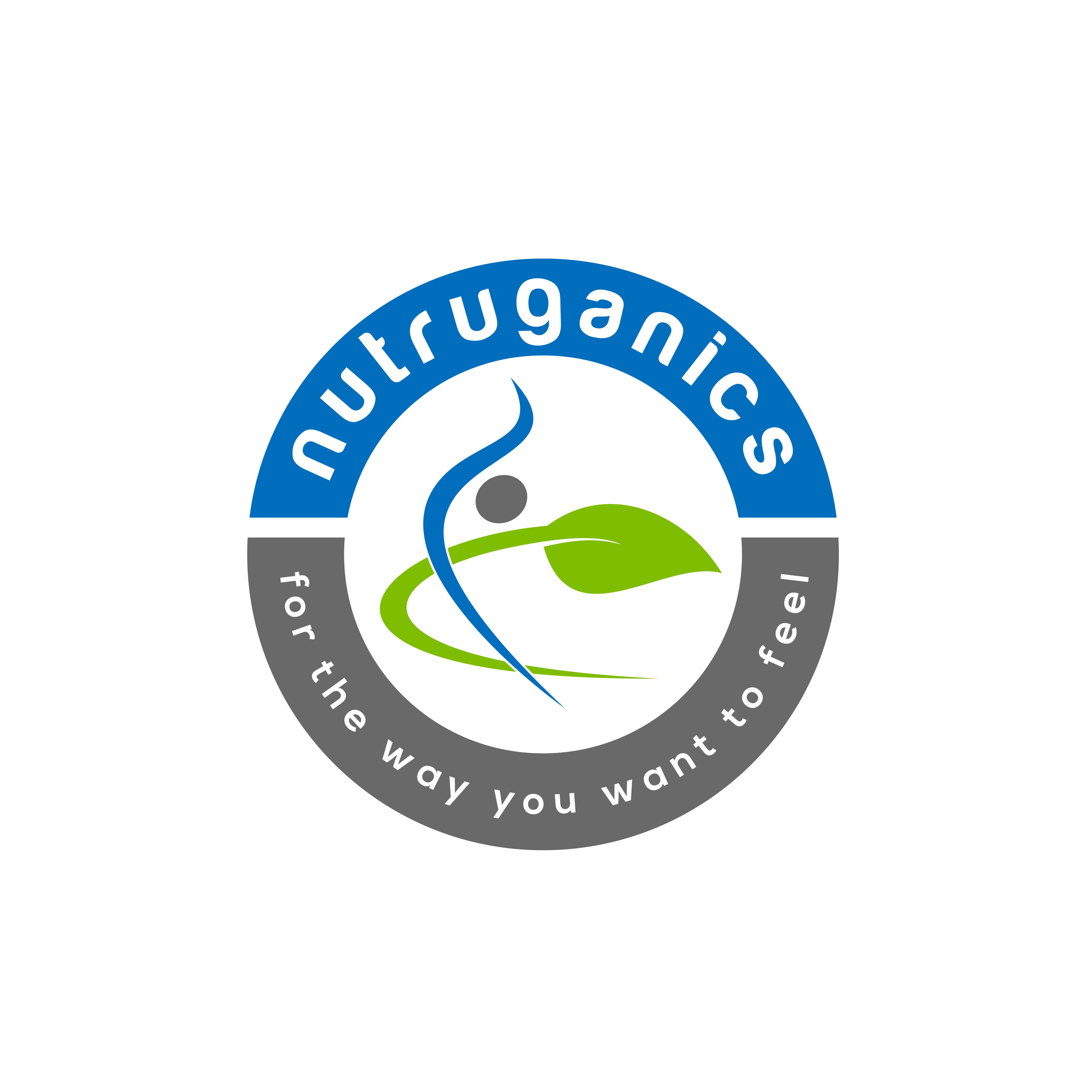 Create a vibrant, colorful, three dimensional-looking logo for a health and wellness company!