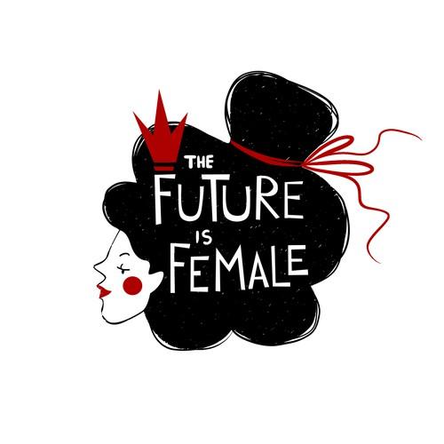 Feminist design for a t-shirt