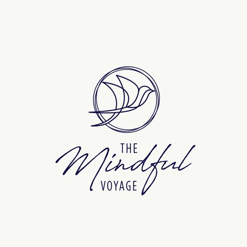 Logo Concept for The Mindful Voyage