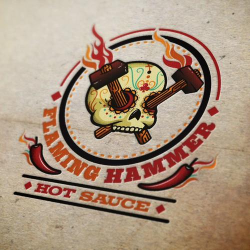 FLAMING HAMMER needs a new logo