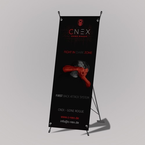 x banner concept