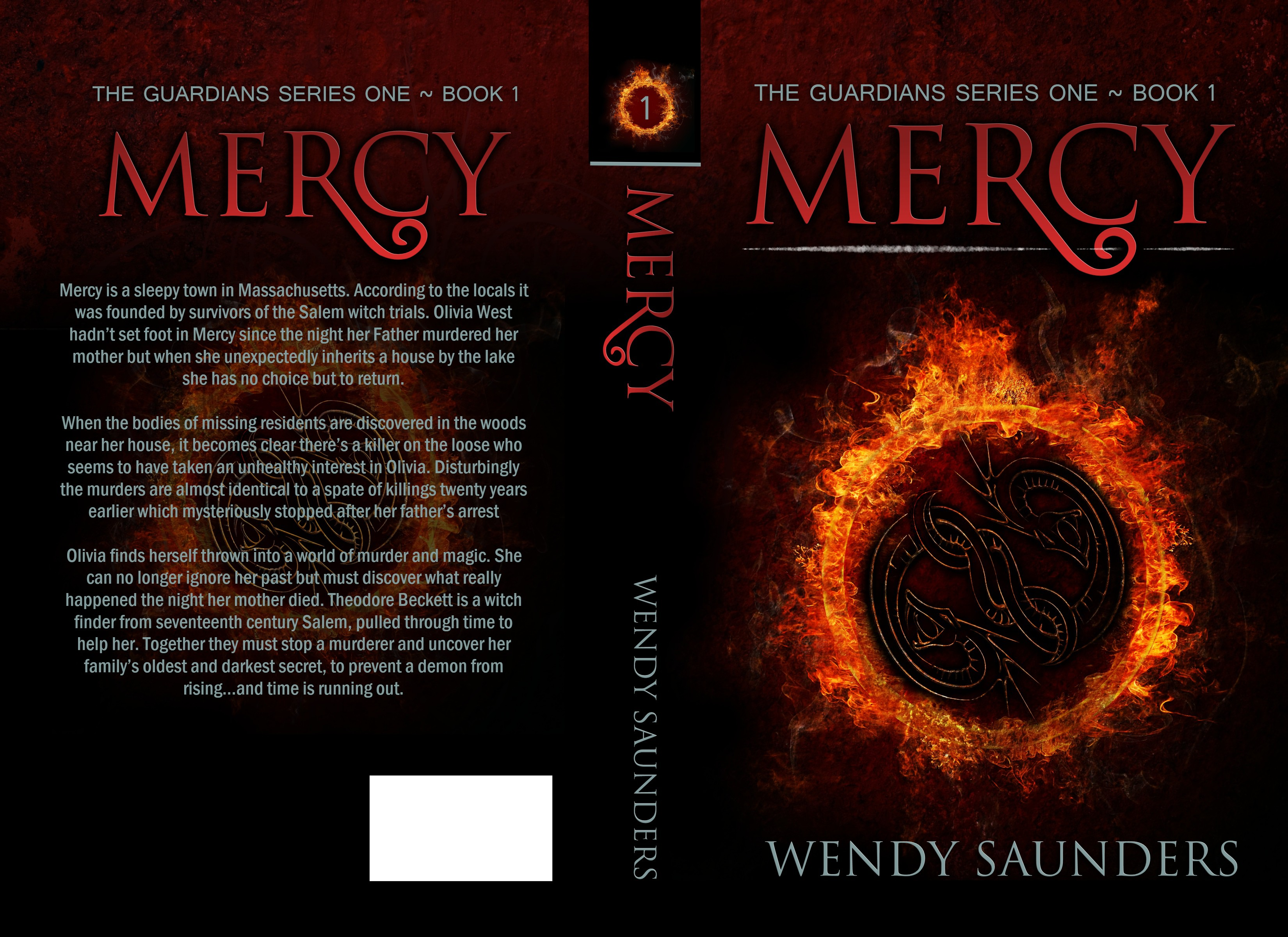 Create an eyecatching best seller cover for Book 1 of a Supernatural/suspense/mystery/romance series