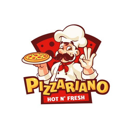 Logo design for Pizzariano