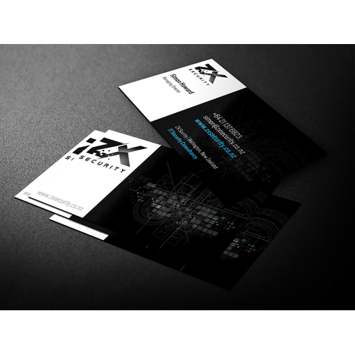 ZX Security Business Cards
