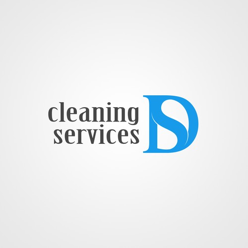 Logo for cleaning services company.