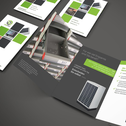 Brochure for a new business area