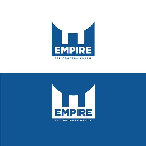 Logo concept for tax company