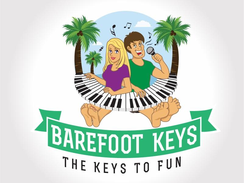 logo for Barefoot Keys