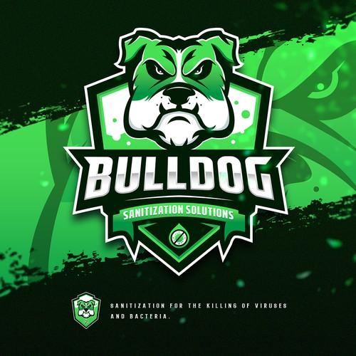 Logo design for Bulldog Sanitization Solutions!