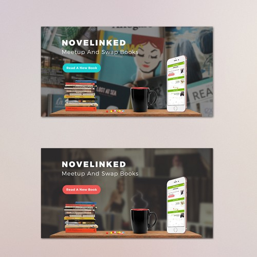 Facebook Ad For A Book Swapping App
