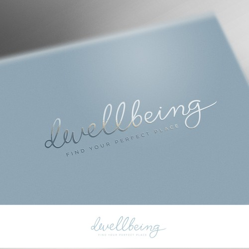 Dwellbeing logo design
