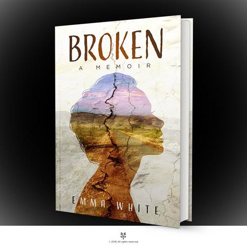 stunning book cover for a travel memoir