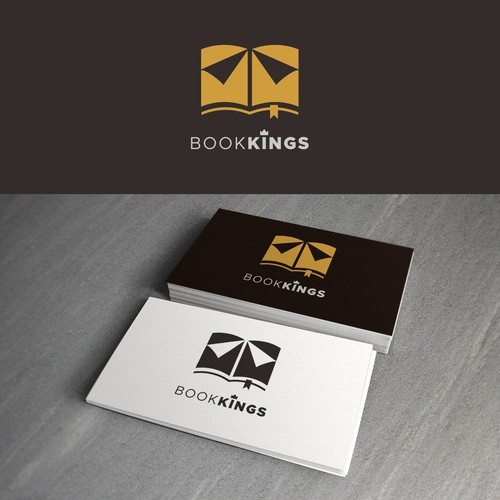 Book and Crown Logo