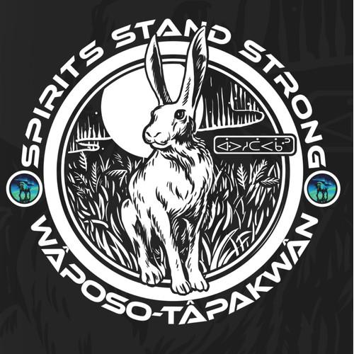 Valentines - Spirit animal Rabbit - Fertility - Spirits Stand Strong