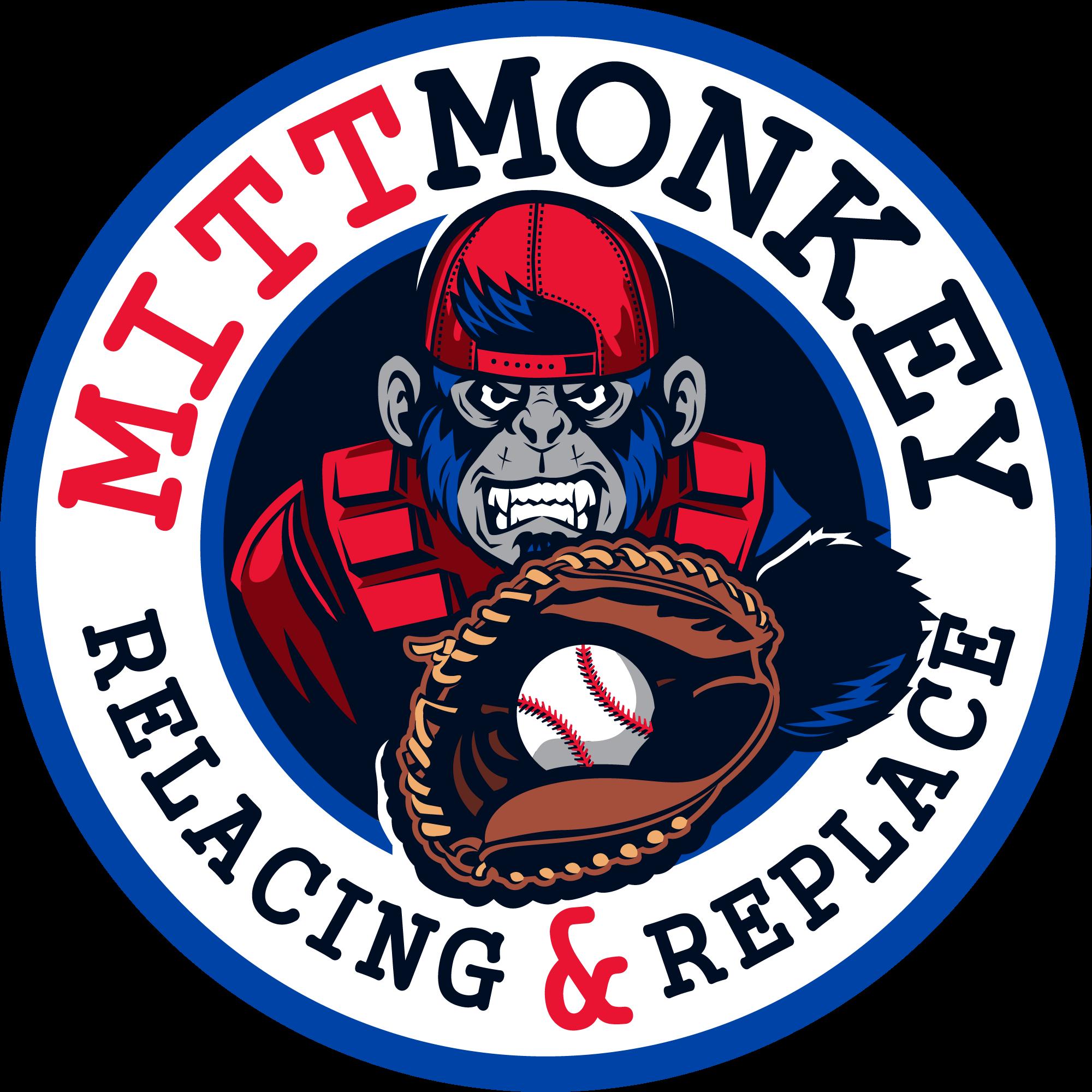 Create an eye-catching logo for Mitt Monkey
