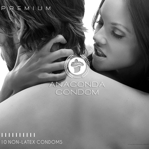 CONDOM packaging for Anaconda Condom