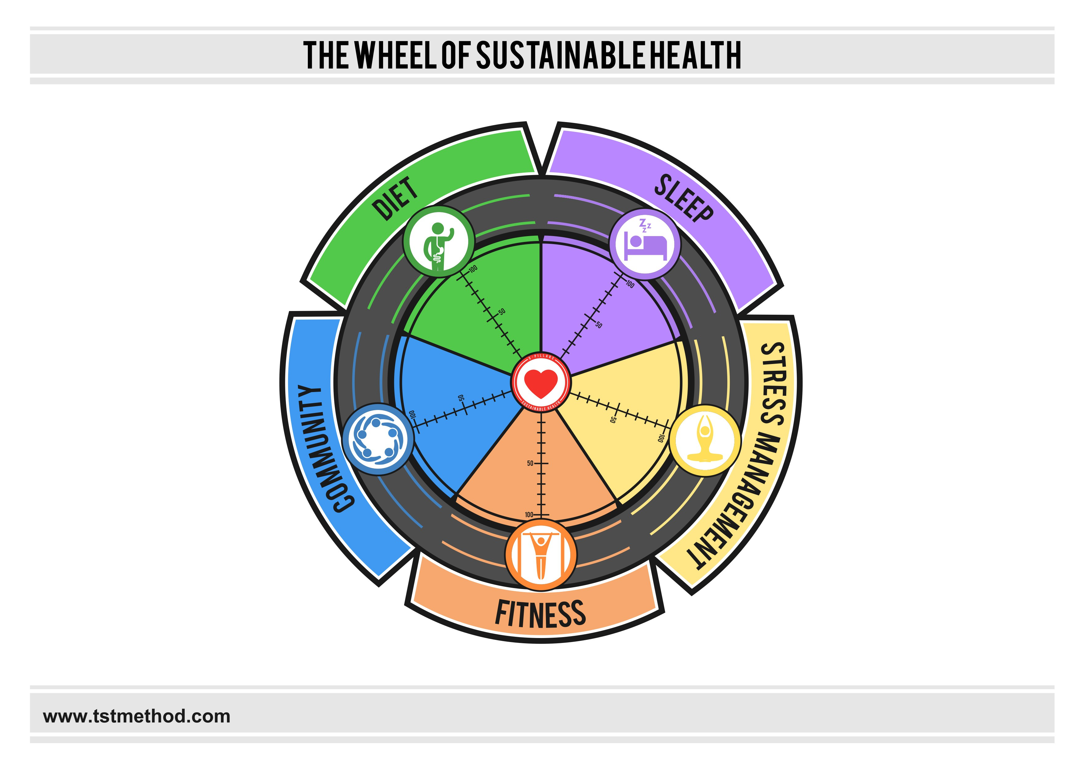 The Wheel of Sustainable Health