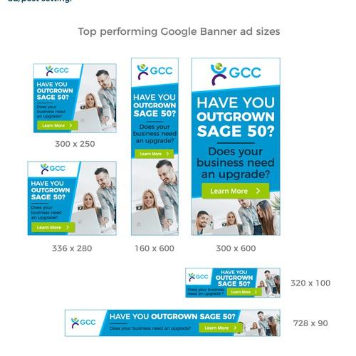 Google Display Advert for GCC providing IT Solution
