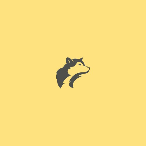 Minimalist and Professional Wolf Logo Design