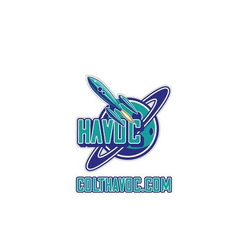 Logo concept for a e-sport player