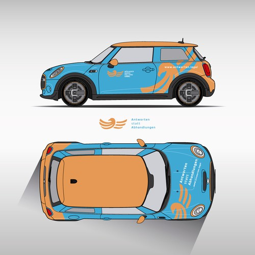 Wrapping design for Mini Electric