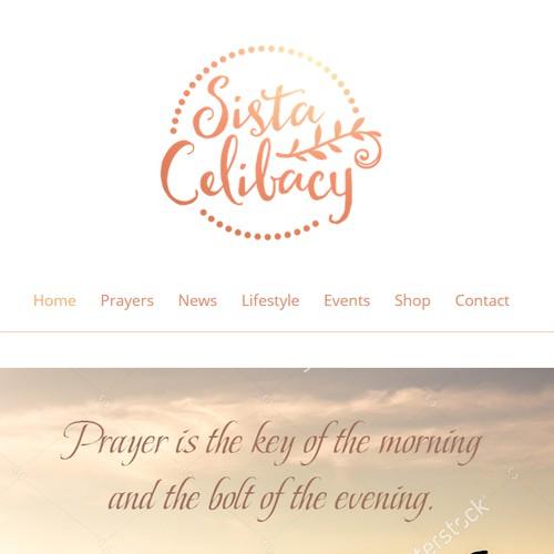 Sista Celibacy Logo and Website Design Contest