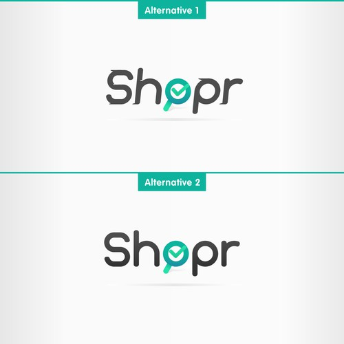 Create the new logo for 'Shopr'!